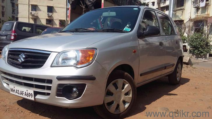 Silver 2012 maruti suzuki alto k10 vxi 28 900 kms driven for Alto car decoration