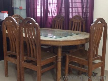 Dining table 4 chair malaysian model Brand Home Office