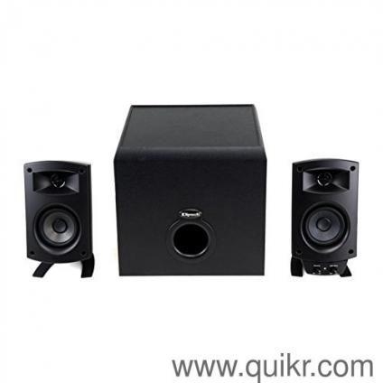 klipsch home theatre. klipsch promedia 2.1 bluetooth speaker system - new music systems home theatre thane   quikrgoods i