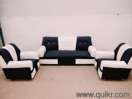 sofa set. Brand New Black \u0026 White 3+1+1 Sofa Set In Excellent Condition For Sale. Apply Cashback Of 250 Coupon Code : QCERTI250. - Home Office Furniture R
