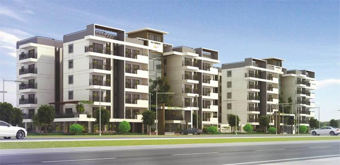 MV Periwinkle Apartments  for sale in Thanisandra, Bangalore