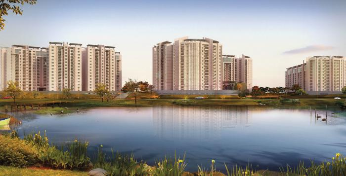 Brigade Lakefront Amber Block In Whitefield Bangalore
