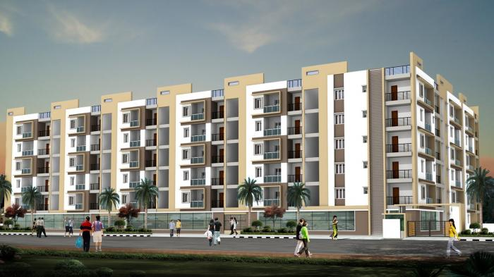 Magnas Lake View Apartments  for sale in Hitech City, Hyderabad