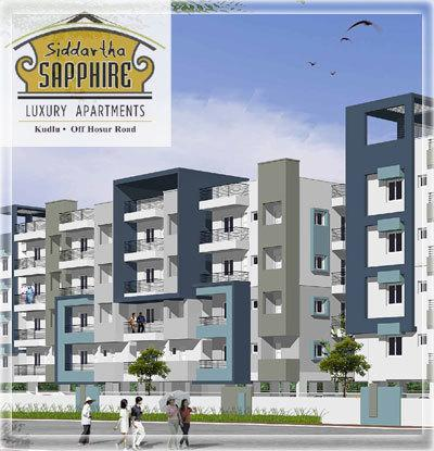 Siddartha Sapphire Apartments  for sale in Hosur Road, Bangalore