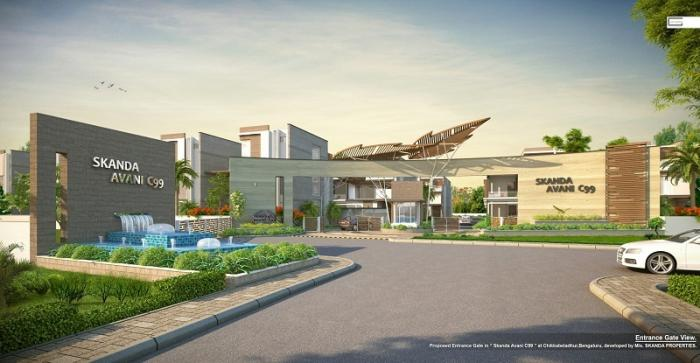 Skanda Avani Villas & Plots  for sale in Off Sarjapur road, Bangalore