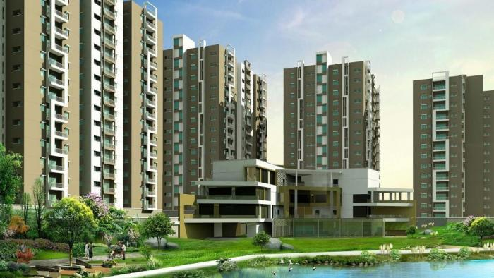 Aparna HillPark Lake Breeze Apartments  for sale in Chanda Nagar, Hyderabad
