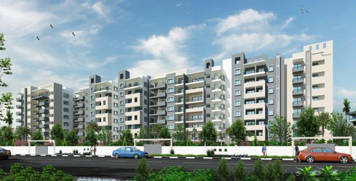Mahaveer Willet Apartments  for sale in Whitefield, Bangalore