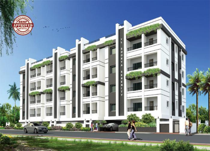 Soorya Serenity Apartments  for sale in Horamavu, Bangalore