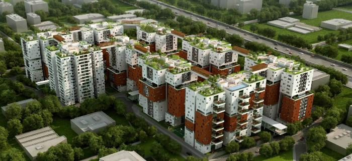 Osian Chlorophyll Apartments  for sale in Porur, Chennai