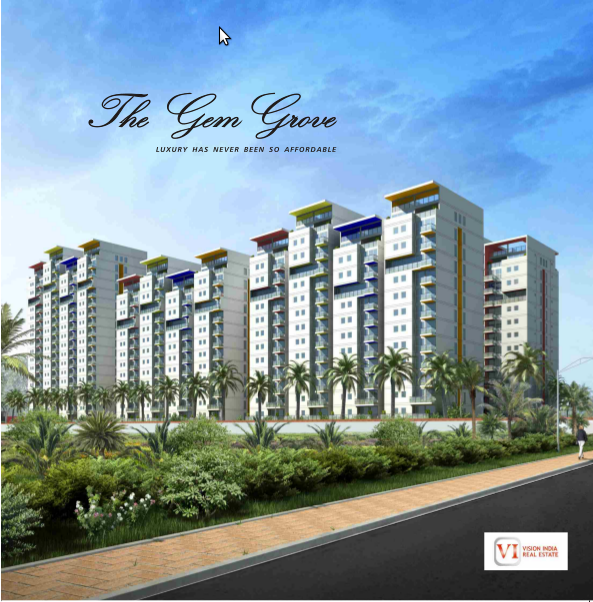 The Gem Grove Apartments  for sale in OMR, Chennai