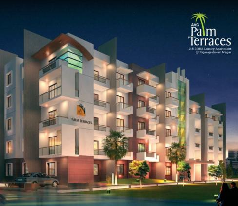 AVG Palm Terraces Apartments  for sale in Raja Rajeshwari Nagar, Bangalore