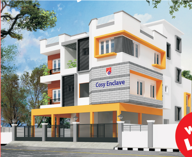Cosy Enclave Apartments  for sale in ECR, Chennai