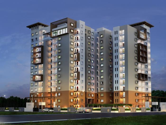 Vajram Essenza Apartments  for sale in Thanisandra, Bangalore