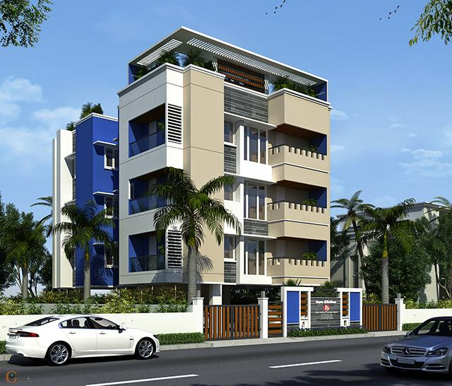 India Builders The Acqua Allodium Apartments  for sale in Anna Nagar, Chennai