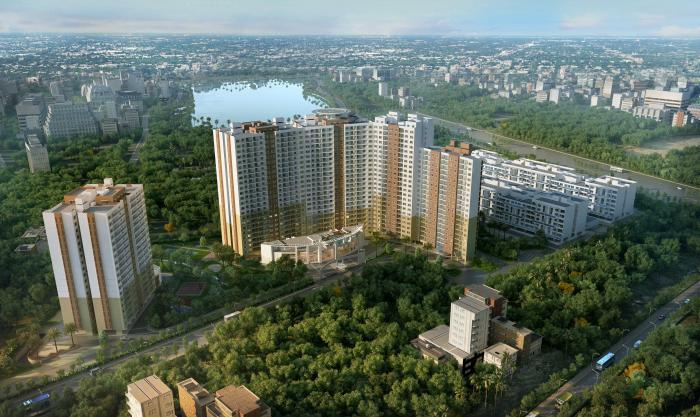 Shriram Chirping Woods Apartment Apartments  for sale in Haralur Road, Bangalore