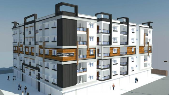 MR Serene View Apartments  for sale in Chanda Nagar, Hyderabad