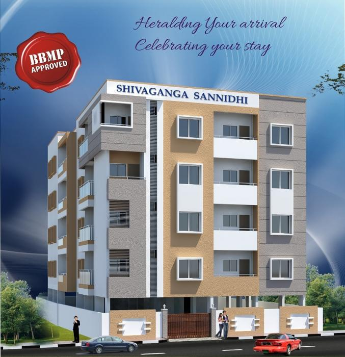 Shivaganga Sannidhi Apartments  for sale in Raja Rajeshwari Nagar, Bangalore