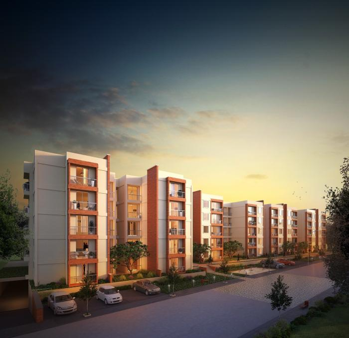 NR Windgates Apartments  for sale in Thanisandra, Bangalore