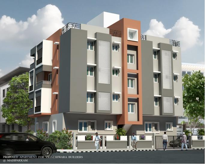 Vigneshwara Kasthuri's Serenity Apartments  for sale in Madipakkam, Chennai