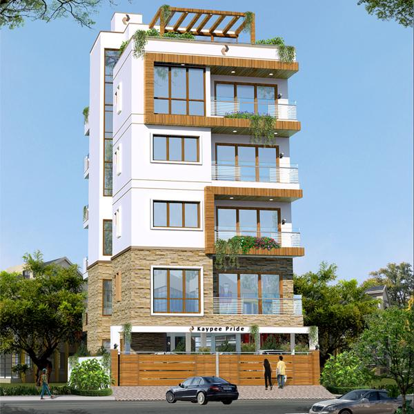 Kaypee Pride Apartments  for sale in Domlur, Bangalore
