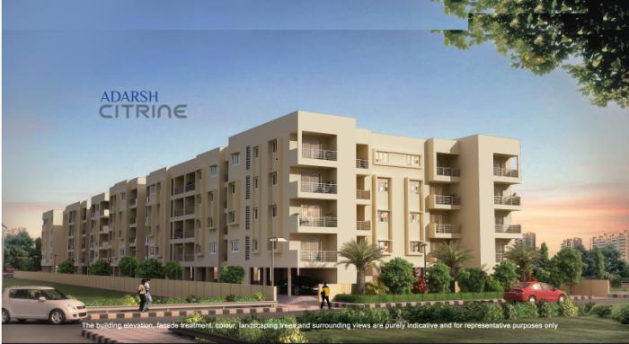 Adarsh Citrine Apartments  for sale in JP Nagar, Bangalore