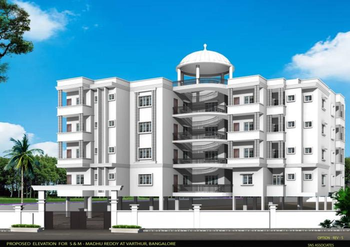 SM Gardenia Apartments  for sale in Whitefield, Bangalore