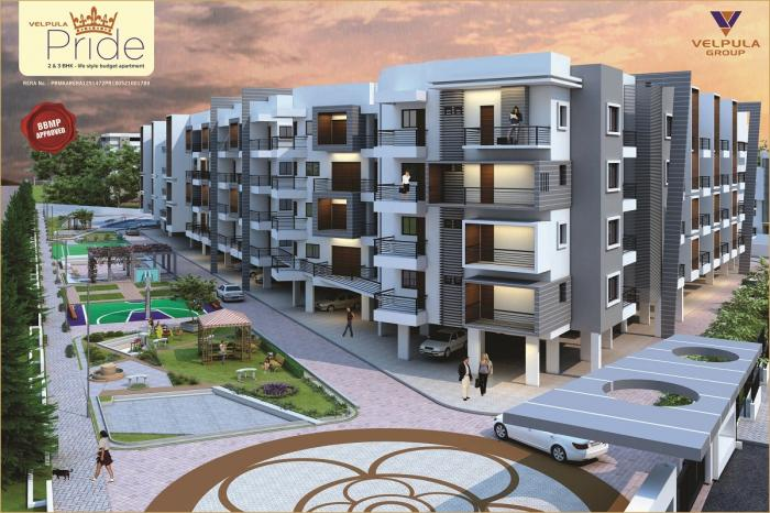 Velpula Pride Apartments  for sale in Yelahanka, Bangalore