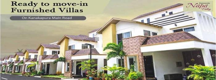 Concorde Napa Valley Villas  for sale in Kanakapura Road, Bangalore