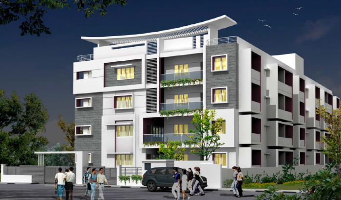 A Peace Paramount Apartments  for sale in Yelahanka, Bangalore