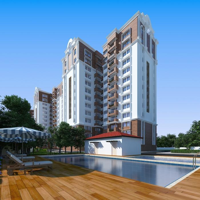 Gopalan Lake Front Apartments  for sale in Electronic City, Bangalore