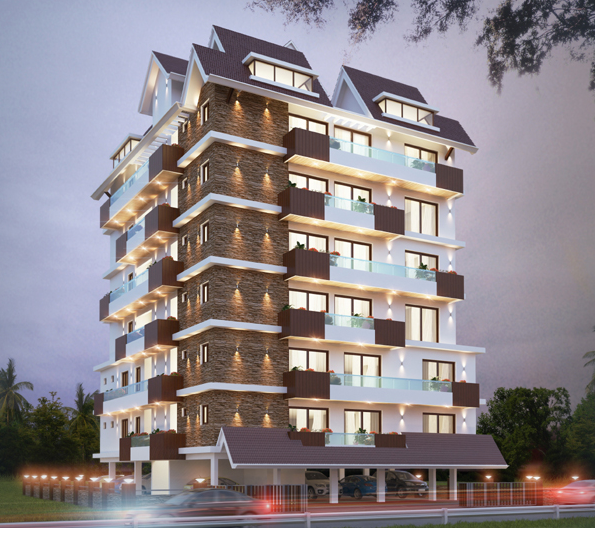 Abad Oasis 3BHK Apartments For Sale In Edapally, Kochi