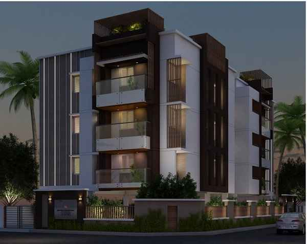 India Builders The Adair Aery Apartments  for sale in Adayar, Chennai