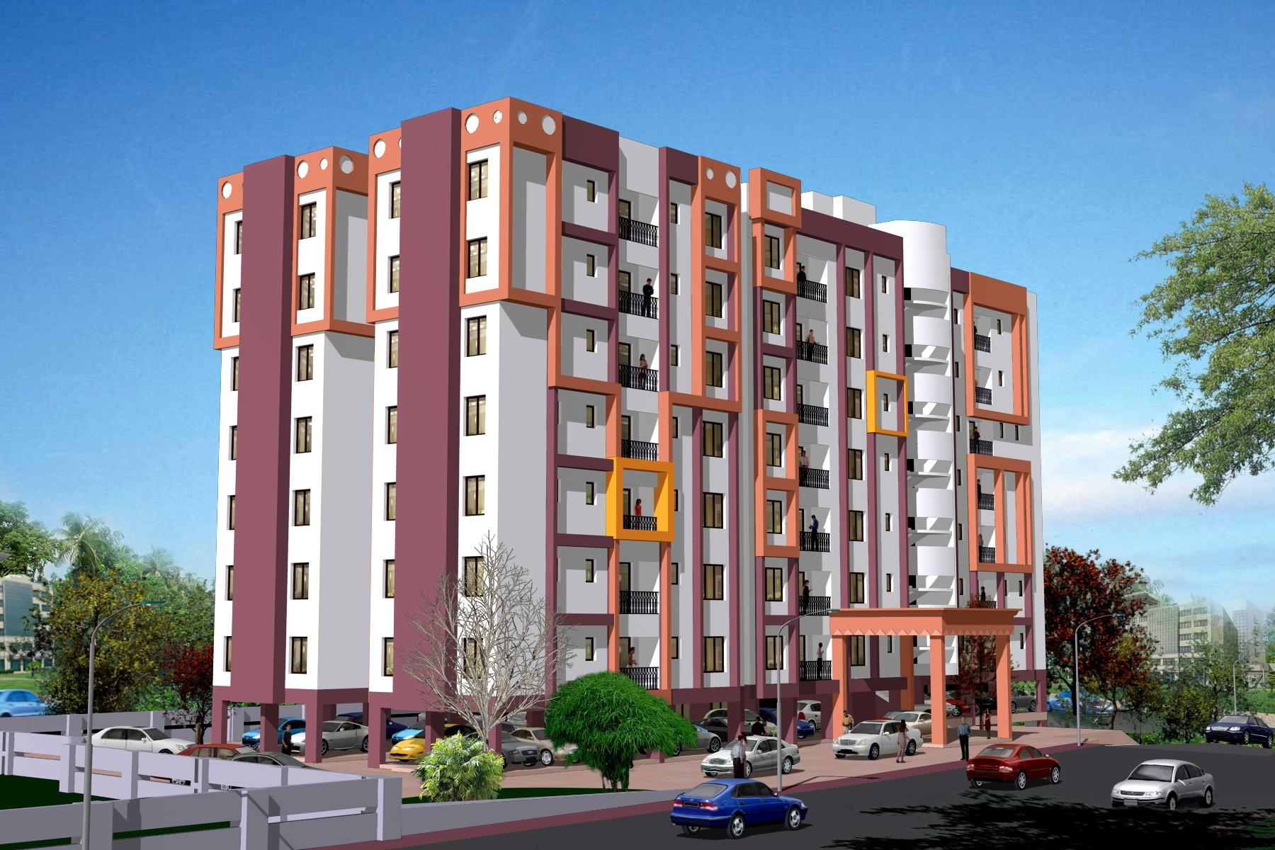 Njk vijay kakkanad by n j k builders pvt ltd in kochi for Apartment design development pvt ltd