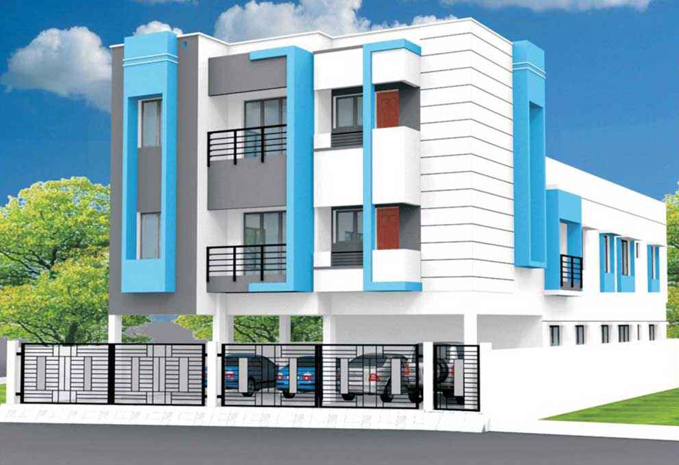 Classic blue kolathur by yashva classic homes pvt ltd in for Classic homes realty