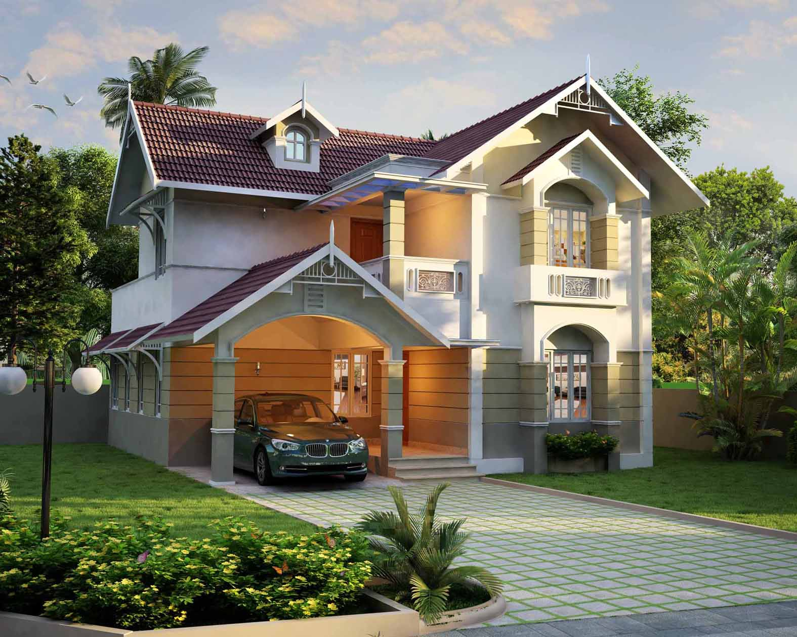 Grace villas 3bhk villas for sale in aluva kochi My home plan