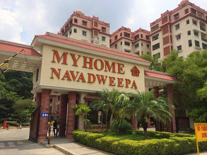 my home navadweepa madhapur by my home group in hyderabad west