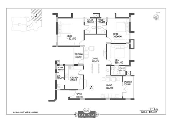 CVC Calista Apartments Elamakkara