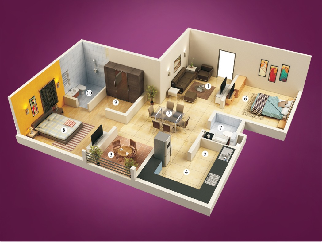 2 BHK Apartments for Sale at Tulips, Avinashi Road