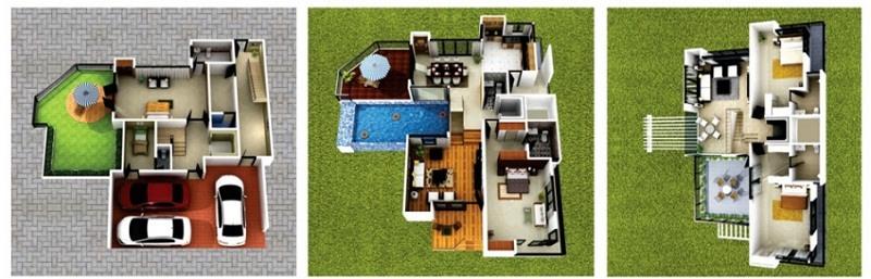 AMV Silver Shores Villas,Maradu