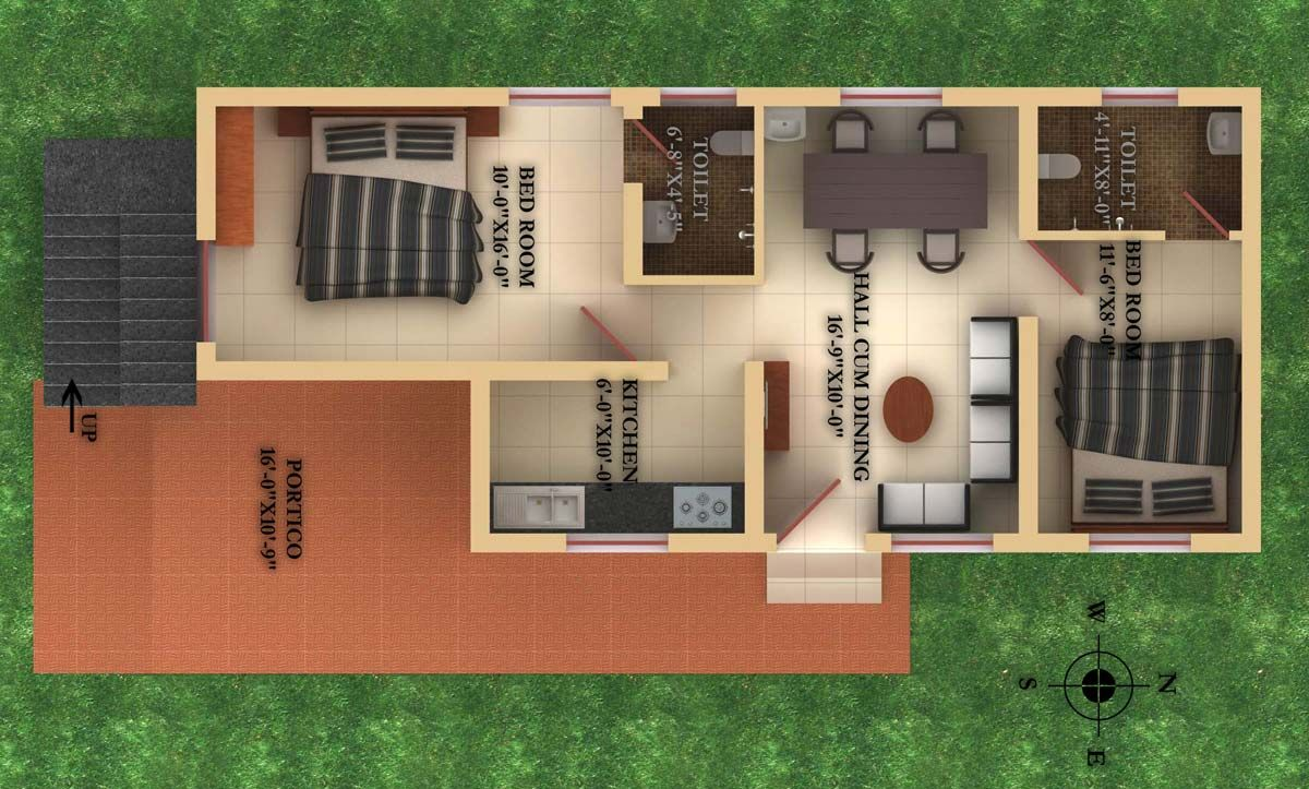 2 BHK Villas for Sale at Vasantham , Thondamuthur