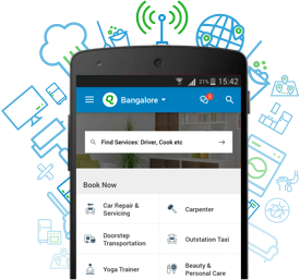 QuikrServices Android App